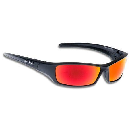 Γυαλιά Ηλίου της Ugly Fish, με κωδικόRS5228, σκελετός σε μαύρο ματ χρώμα και φακό σε κόκκινο χρώμα. Ο σκελετός είναι απο πλαστικό TR-90 με μέγιστη αντίσταση κρούσης, υψηλή ανοχή θερμότητας, ιδιαίτερα εύκαμπτος και ανθεκτικός, ιδιαί...