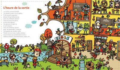 Colección de Láminas en color XL para trabajar atención, percepción vocabulario la escuela