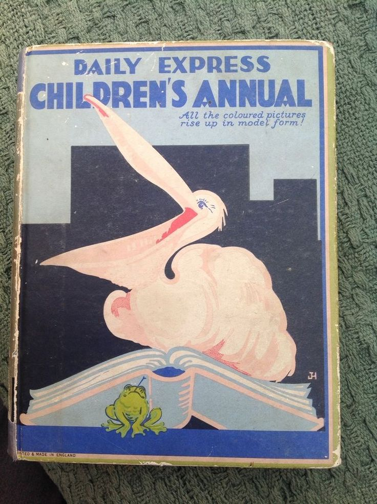 Vintage Book Daily Express Children's Annual 1932