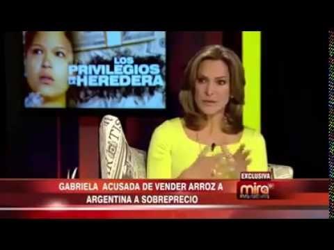Al Desnudo Hija de Chavez es Multimillonaria - YouTube