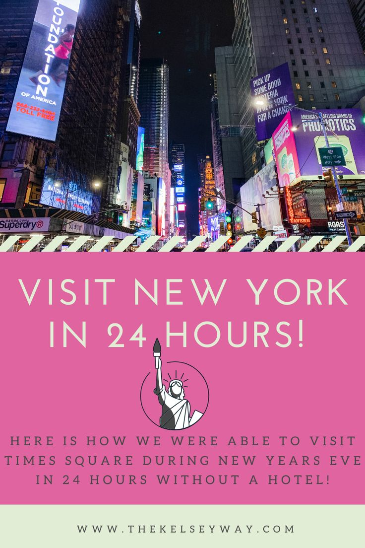 New Year's Eve at Time Square in 24 hours! in 2020