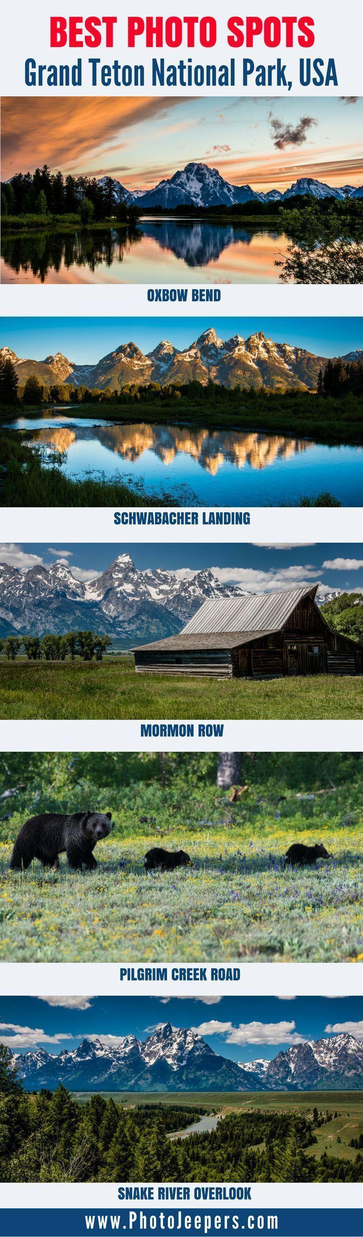 7 meilleurs endroits pour photographier le parc national de Grand Teton   – National Park Explorer