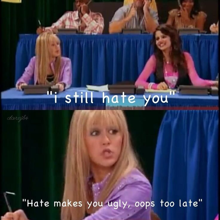 Hannah taught me the best comebacks ever!