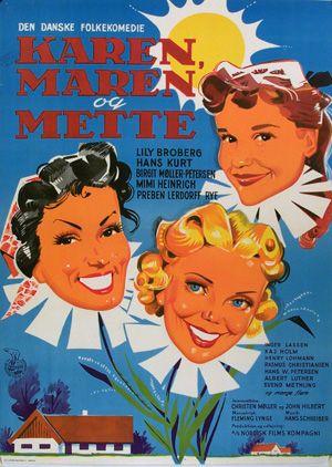 Karen, Maren og Mette (1954)