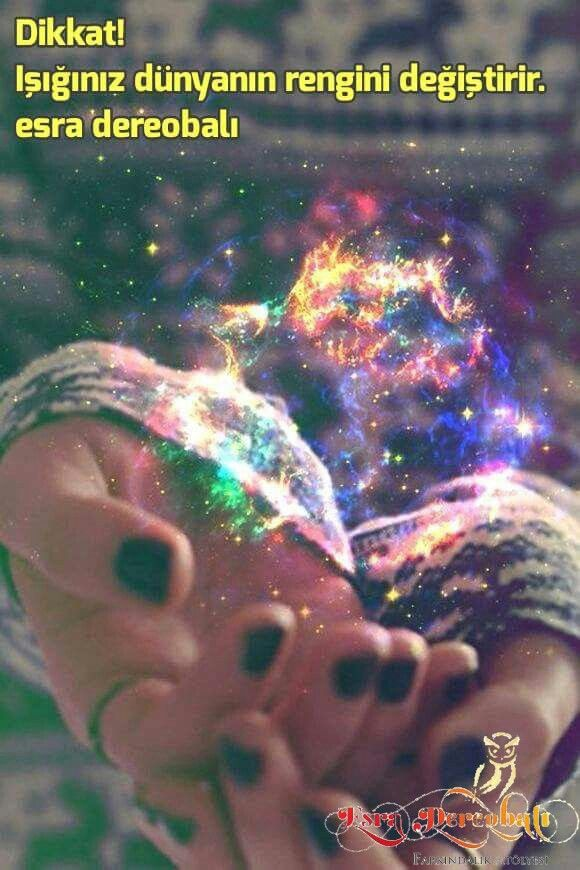 Dikkat! Işığınız dünyanın rengini değiştirir.e dereobalı