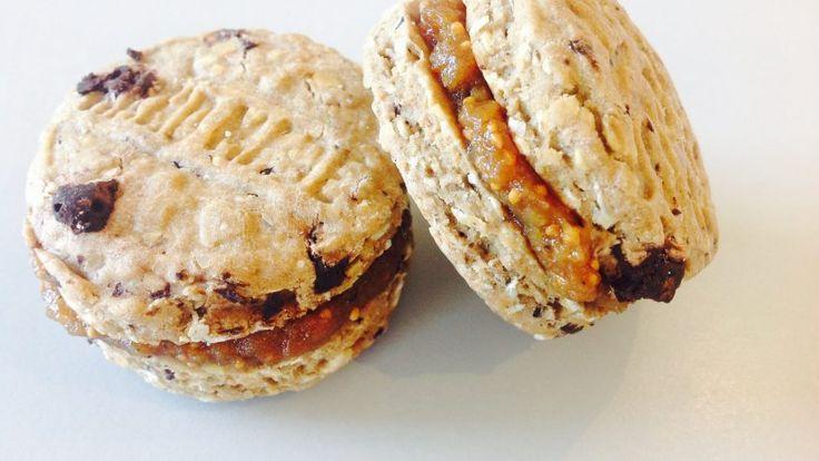 Biscotti di quinoa senza zucchero con marmellata istantanea di fichi – Ricette Dieta Gruppo Sanguigno