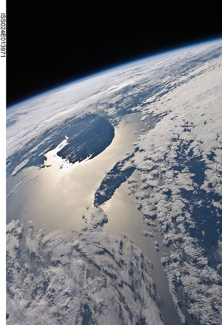 Gaspe Peninsula, Anticosti Island (NASA, International Space Station Science, 09/07/10) by NASA's Marshall Space Flight Center, via Flickr
