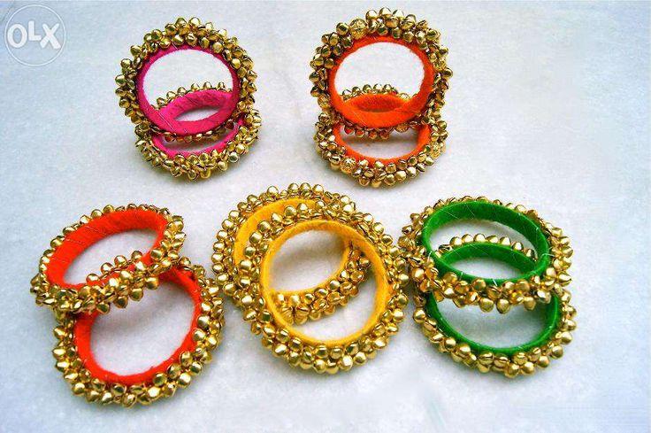 the lovely ghungroo bangles