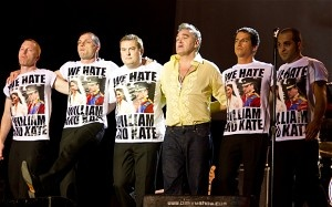 Falklands: Morrissey's band wear 'We Hate William and Kate' T-shirts in Argentina  Why I love Morrissey and the Smiths so much...
