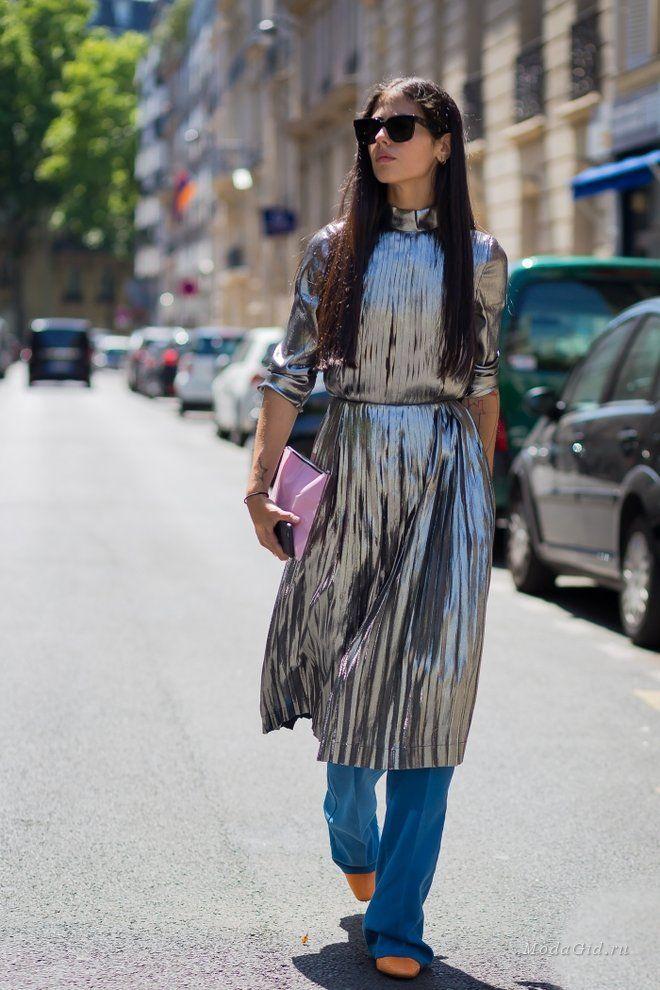 Модные образы стильной итальянки с роскошными волосами Джильды Амбросио.