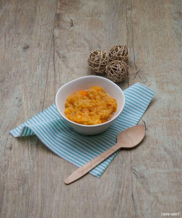 recette bio : compote pomme kaki