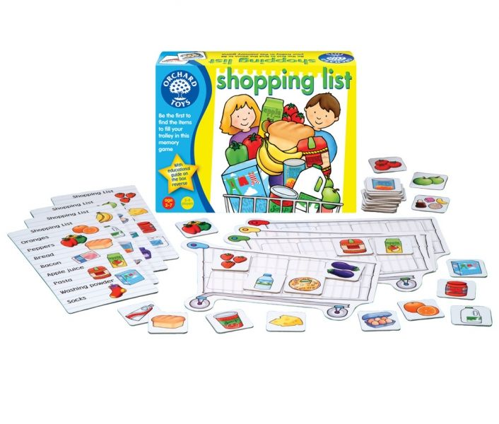 Shopping List game by Orchard Toys, a Norfolk UK company ...