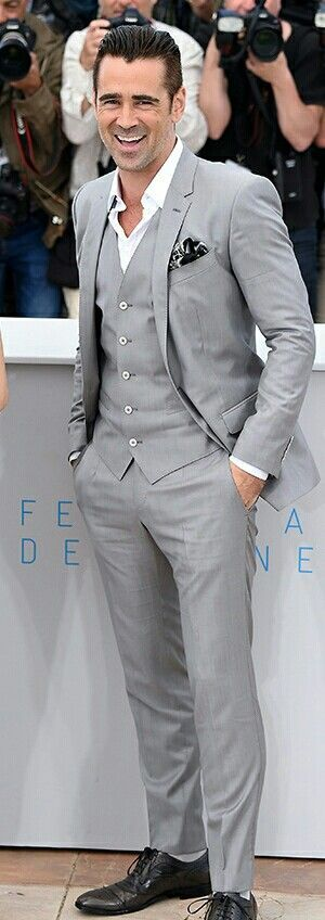 2015 Cannes Film Festival Colin Farrell in Dolce & Gabbana #fashion #trend #design #style #product #onlineshop #shoptagr
