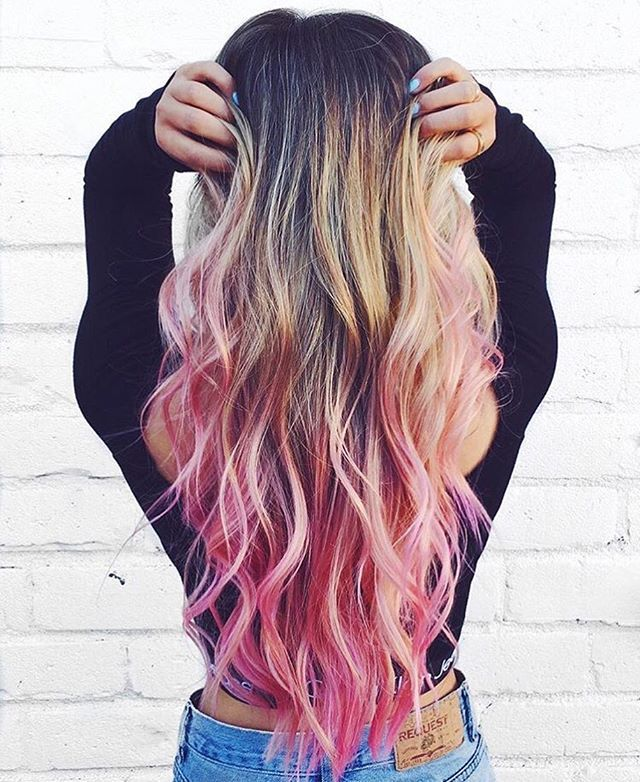 Muse @laurdiy in Virgin Pink colored by @stephengarrison and styled by @donovanmillshair