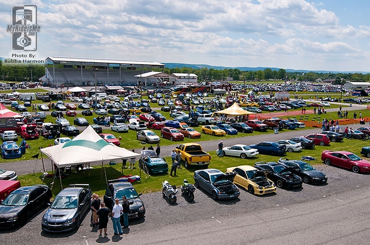 Carlisle Car Show, PA - this city is known for its many car shows throughout the year