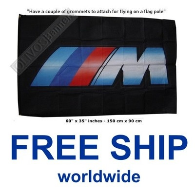 $17.99 Free Shipping WorldWide Service!  BMW banner flag M series POWER M5