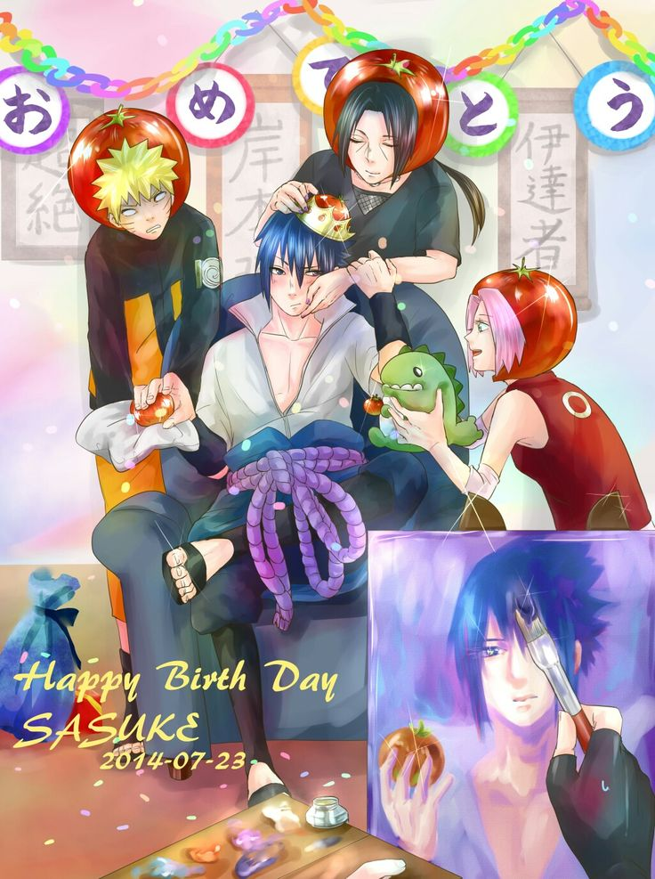 Sasuke birthday's