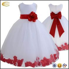 vestidos de niña de petalos - Buscar con Google