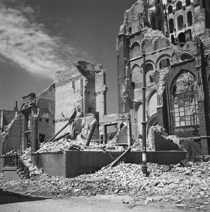 Arnhem, Turfstraat 1945 - Oud-Arnhem