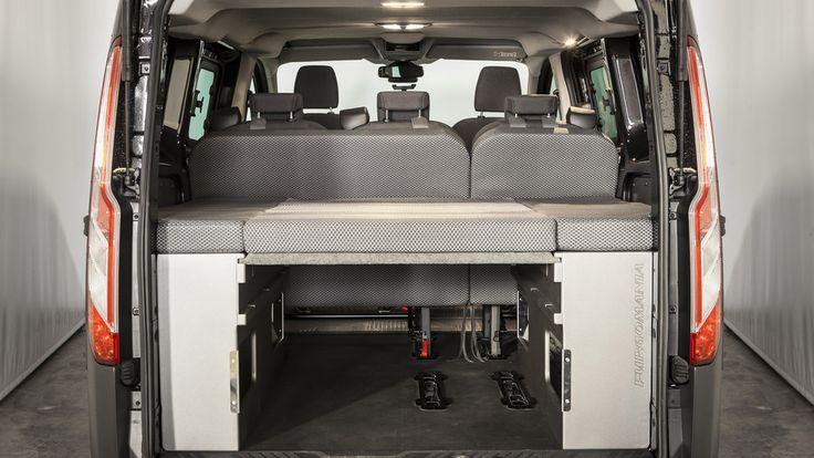 Furgomania,kit-cama-basico ford transit-custom