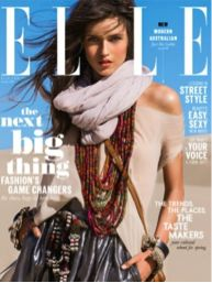 #12 The latest issue of Elle Australia. After the debut issue in October, we can't wait to discover more Australian style in its glossy pages while lying on the beach.