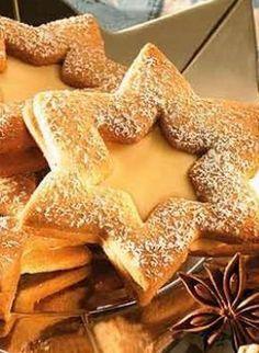 Nur für Erwachsene ;) Gefüllte Eierlikör-Sterne: http://kochen.gofeminin.de/rezepte/rezept_gefullte-verpoorten-sterne_331449.aspx