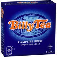 Billy Tea Black Tea Campfire Brew Tea Bags