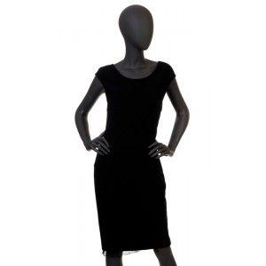 Liu Jo - czarna sukienka z koronką
