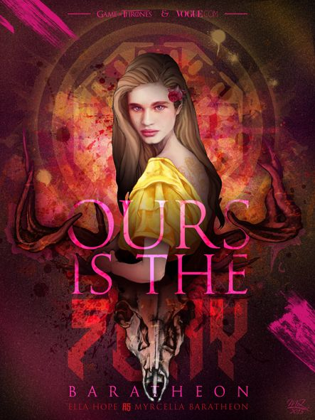"""Ours is the Fury"" - Game of Thrones & Modelling Mash Up / Ella Hope as Myrcella Baratheon"