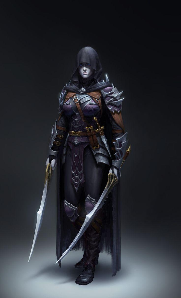 Dark Assassin by Yoon Seseon on ArtStation.