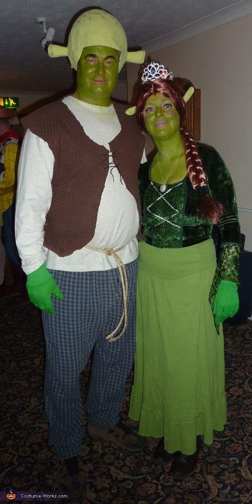 Shrek And Fiona Halloween Costumes