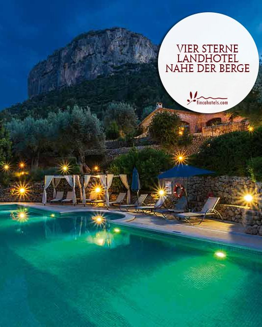S'Olivaret - Mallorca: 4-Star-Country-Hotel close to the mountains. Vier Sterne Landhotel nahe der Berge.