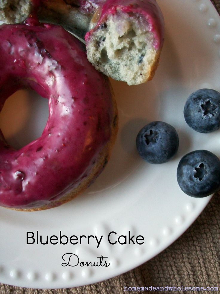 Blueberry Cake Donut Dunkin