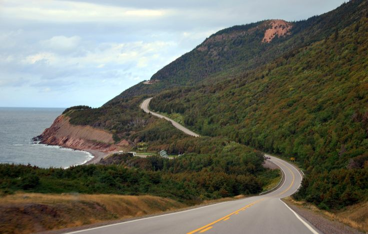 Cabot Trail, NS. It's impossible to drive this route too many times.
