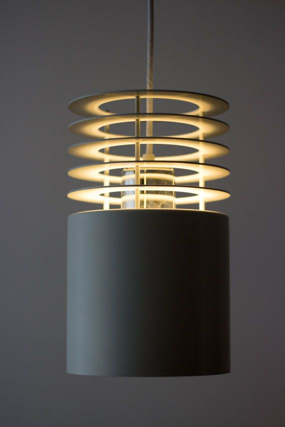 Beautiful Hydra I lamp, designed by Jo Hammerborg for Fog & Mørup in the early 1970s. Really nice vintage condition, with only very minor use