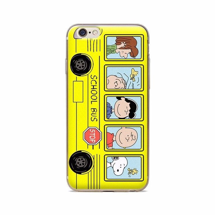 Charlie Brown Bus - Cellphone Case