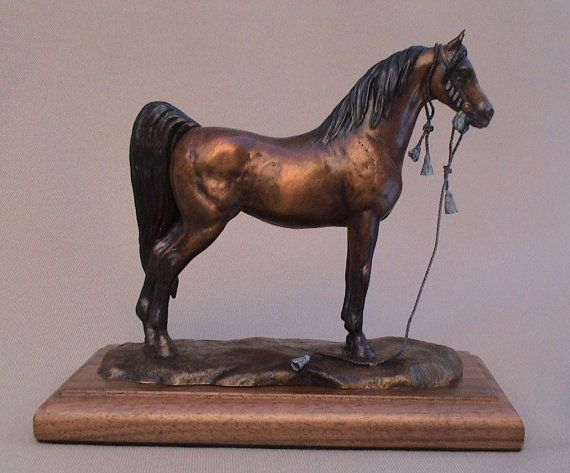 Arabian Horse Sculpture, Horse Art, Horse Sculpture, Arabian Horse Art, Arabian Horse Bronze Sculpture on Etsy, $700.00