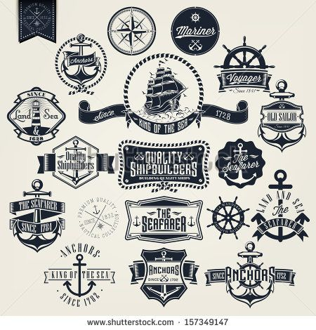 Anchor Logo Stock Photos, Images, & Pictures | Shutterstock
