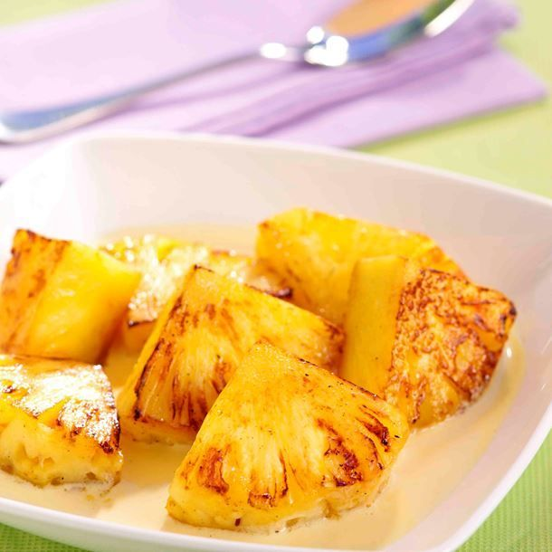 Ananas rôti minceur