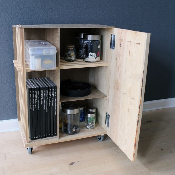 Personal workspace storage, with room for all my tools. By Marie Dam Holsting