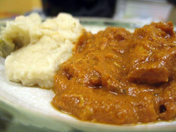 Indian Butter Chicken Slow Cooker