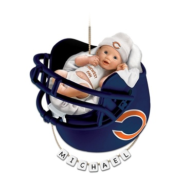 94 best bears themed babyshower ideas images on pinterest catalog spree chicago bears personalized babys first christmas ornament bradford exchange negle Choice Image