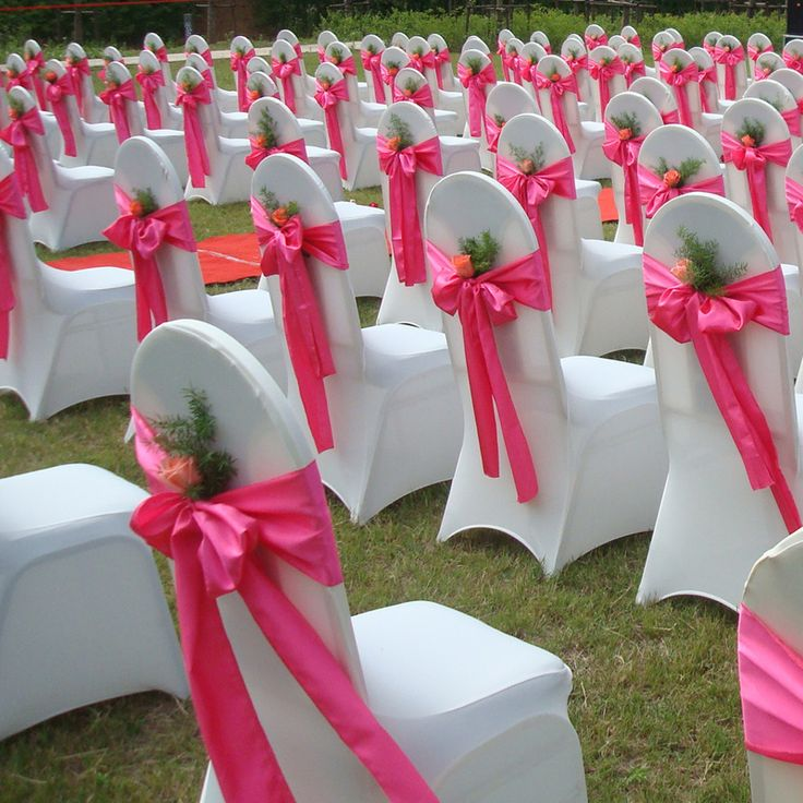 Best 25 cheap chair covers ideas on pinterest cheap for Chair covers for wedding design