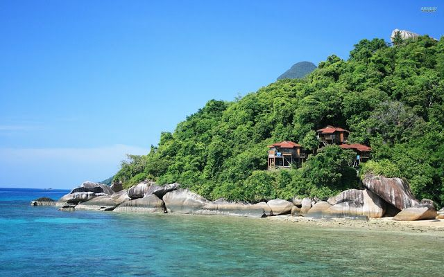 Tioman Island, Malaysia ~ Marvelous Nature