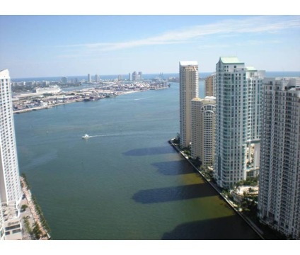 View from Epic Luxury Condo in Miami, Florida