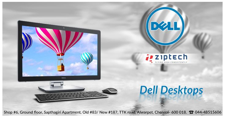 Compact power packed Dell desktops now available @ Ziptech Alwarpet leading store in Chennai . Known for its speed and performance. Dell accessories also available . Call us for more details @ 044-4851 5606