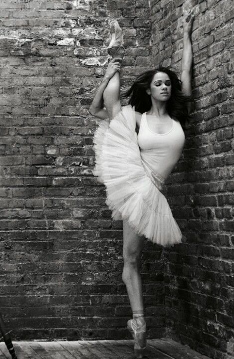 Misty Copeland: The first African American female soloist for the American Ballet Theatre (ABT) - she is INCREDIBLE!