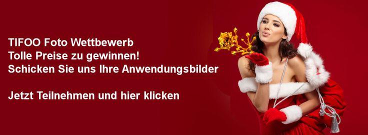 Endlich ist es soweit: Das TIFOO Weihnachtsgewinnspiel startet am 22.11.2016. Die Bilder, die Sie uns von Ihren Anwendungsergebnissen mit beliebigen Tifoo-Produkten zusenden an die E-Mail info@tifoo.de, nehmen am Wettbewerb in Facebook teil. Bestimmen Sie wer unsere Gewinner sind: Das Bild, welches am 24.12.2016 um 12:00 Uhr die meisten Likes hat gewinnt.