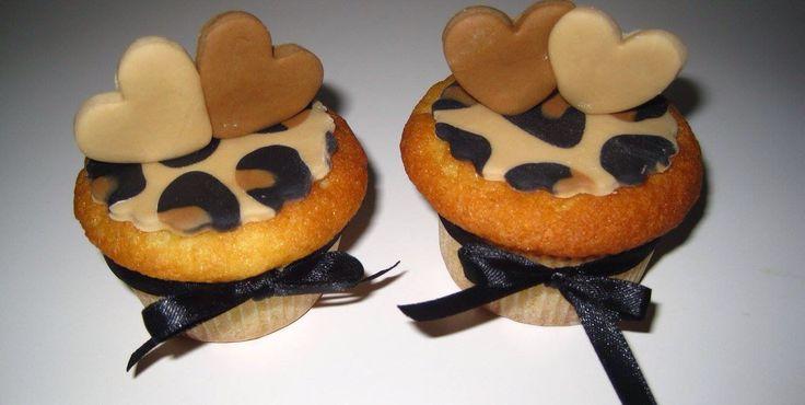 Cupcake leopardato