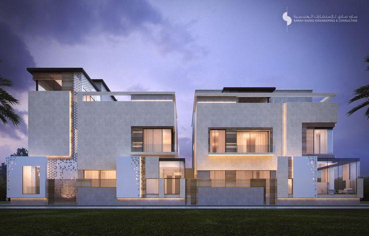 private villa  1000 m     sarah sadeq architects